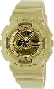 Casio Damen-Armbanduhr XL Baby-G Analog - Digital Quarz Resin BA-111-9AER