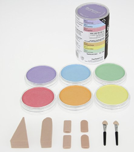 colorfin-panpastel-pearlescent-artist-pastels-set-9ml-yellow-green-orange-blue-red-and-violet-6-pack