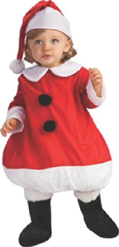 Rubies Lil' Mrs. Claus Children'S Costume, Small front-497896