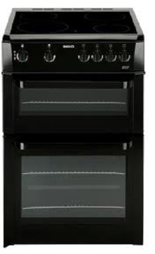 Beko BDC643K Double Cavity 60cm Electric Cooker in Black