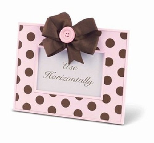 Pink And Brown Polka Dot Baby Shower front-918245