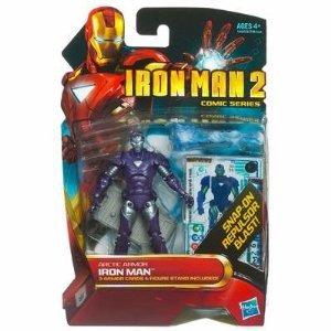 Iron Man 2 Comic Series 4 Inch Action Figure #33 Arctic Armor Iron Man - 1