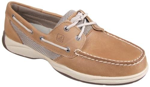 Sperry Top-Sider Women's Intrepid 2-Eye Lace Up Shoes,Linen/Mesh,7 M US