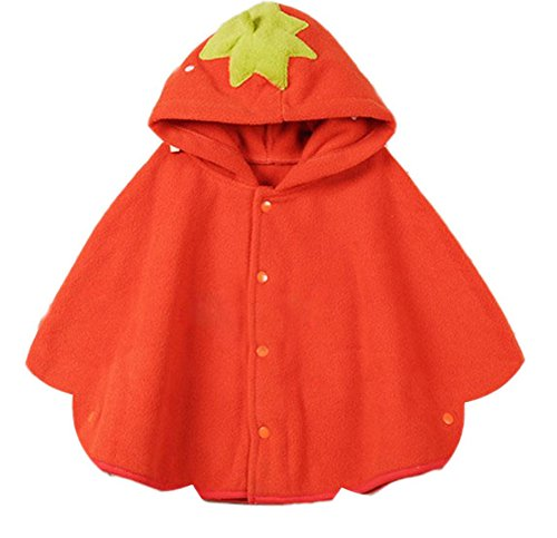 Qingsun Baby Animal Fashion Cute Cloak Baby Overcoat Outwear