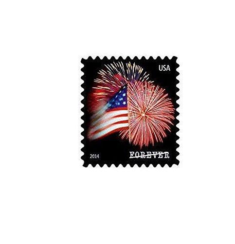 awardpedia usps forever stamps star spangled banner roll of 100 fireworks. Black Bedroom Furniture Sets. Home Design Ideas