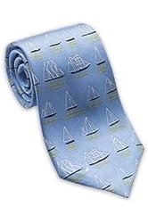 Sailboat / Boating - Men's Silk Necktie