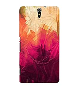 Illustration Painting Cute Fashion 3D Hard Polycarbonate Designer Back Case Cover for Sony Xperia C5 Ultra Dual :: Sony Xperia C5 E5533 E5563