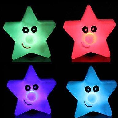Ggb- Coway Star Light Colorful Five-Star Led Night Light Small Lantern