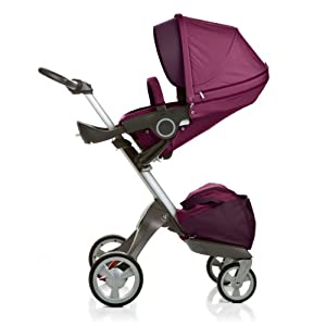 Stokke Xplory Stroller, Purple (Discontinued by Manufacturer)