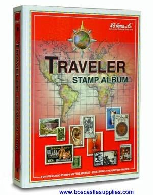 Harris Worldwide Traveler Stamp Album Ideal for Beginners - A-Z Countries