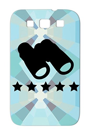 Anti-Drop Black Protective Hard Case For Sumsang Galaxy S3 Fernglas Best R1Ai You Zoom Symbols Shapes See Binoculars I Haters Cool Look Lupe Dont