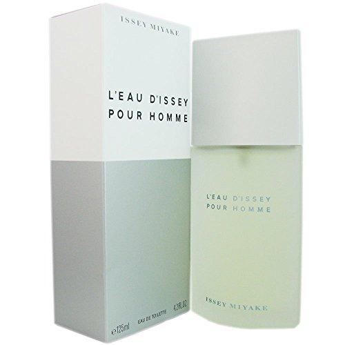 Issey Miyake L'Eau D'Issey Pour Homme Eau de Toilette, Uomo, 125 ml
