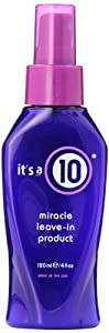 It's A 10 Miracle Leave In Product, 4-Ounces, Colors may vary