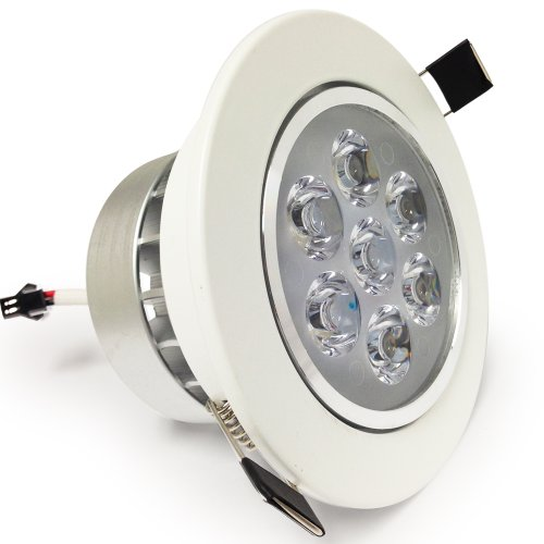 7Watt Led Recessed Light - Led Ceiling Light - 3000K Warm White - Ac85-265V (Driver Included)