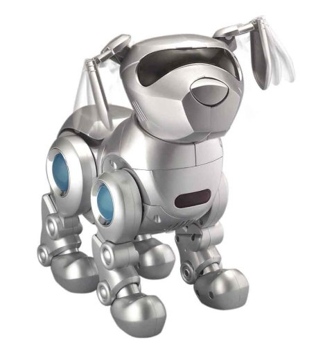Tekno the Robotic Puppy - Silver