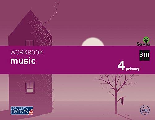 Music. 4 Primary. Savia. Workbook