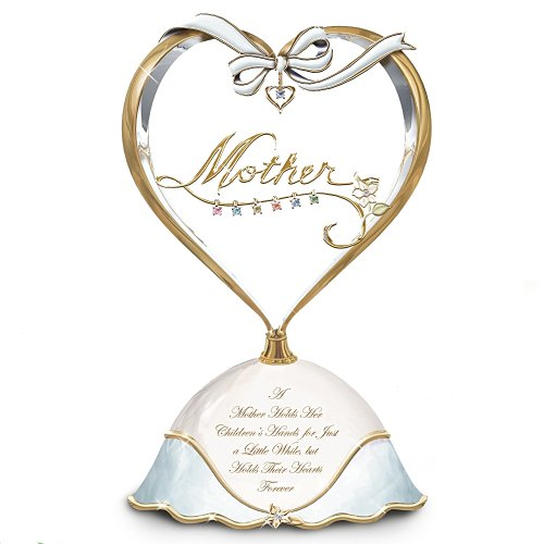A Heart Full Of Love Collectible Birthstone Music Box: Personalized Gift For Mom by The Bradford Exchange