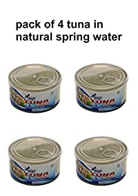oceans secret tuna in natural spring water combo of 4(180g each)