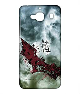 Fear Is Why You Fail Phone Cover for Xiaomi Redmi 2 by Block Print Company