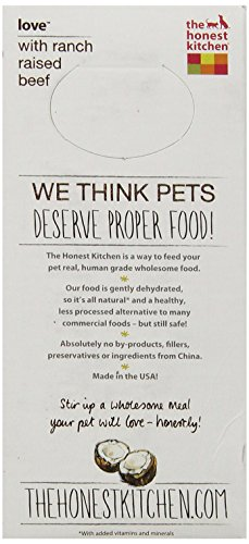 The Honest Kitchen Love: Grain Free Beef Dog Food, 2 lb_Image4