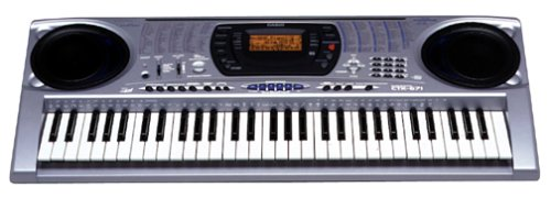 61 Key, 5 Octave Keyboard with Sound Generator, Internet Expansion and TouchSensitive Keys