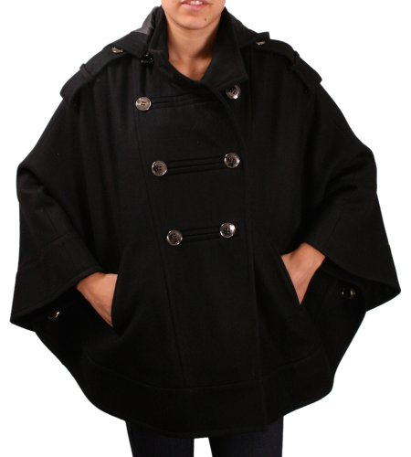 Kenneth Cole New York Women's Wool Cape Jacket