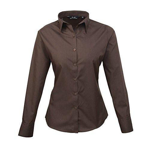 Premier - Camicia -  donna marrone 40