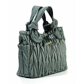 (妈咪)timi & leslie Marie Antoinette II Diaper Bag黑色妈咪包/尿布包$120.93