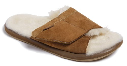 Buy Low Price Moszkito Fuzz Sheepskin Arch Support Slippers Men 2106 B005jkz588 Shop Slipper