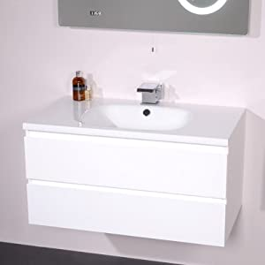 Polyglomerate Stone Hand Wash Sink - 2 Deep Fill Drawers Wall Mounted ...