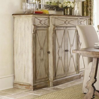 Hooker Four-Door Three-Drawer Credenza - Dune & Drift 3002-85006