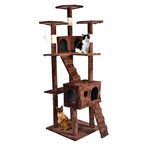 Cool cat tree plans cat beds for Cat tree blueprints