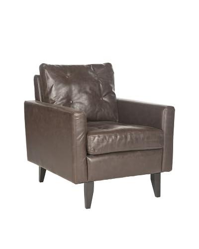 Safavieh Caleb Club Chair, Antique Brown