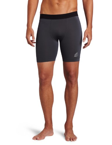 Adidas Men s Techfit Dig Short Tights Dark Onix Large