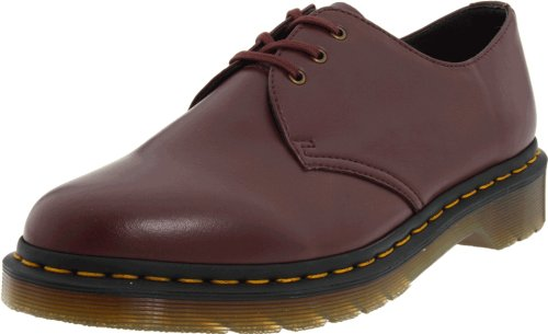 Dr. Martens Unisex-Adult Vegan 1461 Cherry Red Lace Up 14046600 13 UK