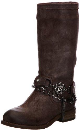 Blackmail Womens Hampstead Biker Boots B0066LE161-702 Dark Brown 5 UK, 38 EU