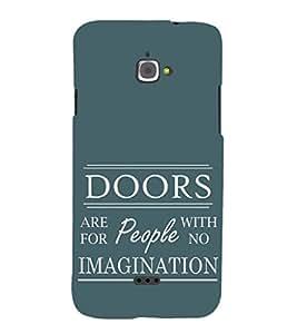 EPICCASE Imagination Mobile Back Case Cover For InFocus M350 (Designer Case)