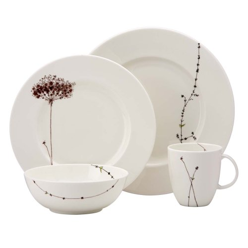 Lenox Simply Fine Flourish 4 Piece Place Setting