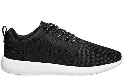 OZONEE Sneakers Uomo Scarpe Sportive Scarpe Da Corsa Scarpe da ginnastica Lacci Da Scarpe NM 127 - Uomo, Nero, 44