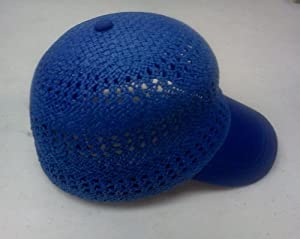 Amazon.com : Capas Headwear Baseball Cap Straw Summer Cap Royal Bluee
