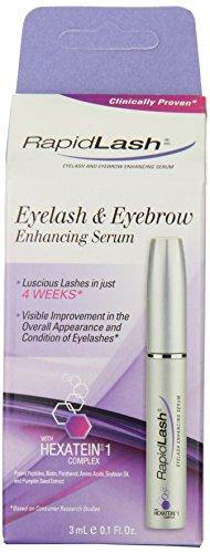 Rapidlash Eyelash And Eyebrow Enhancing Serum (3Ml),0.1-Fluid Ounces Bottle