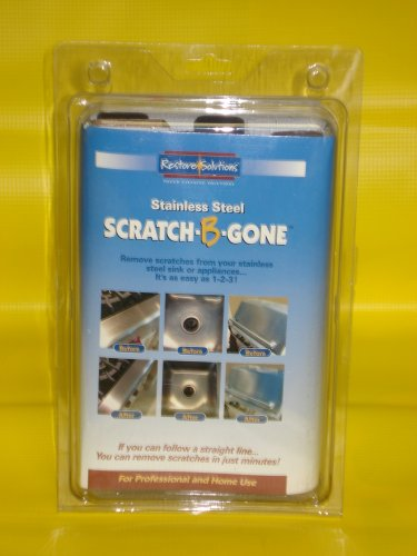 Scratch B Gone Stainless Steel Scratch Repair Kit