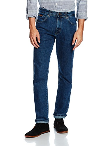 Wrangler Arizona Stretch W12OXG77O, Jeans Uomo, Blu (Rolling Rock), 48/34(UK)