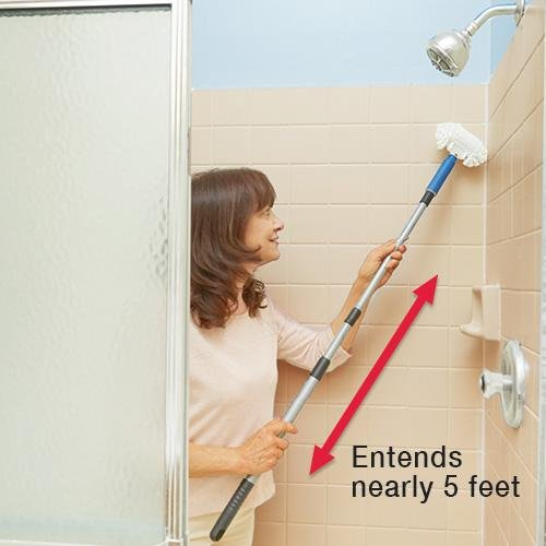 Telescopic Tub & Tile Scrubber