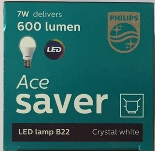 Ace Saver 7W LED Bulbs (Crystal White and Cool Day Light)