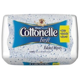 Cottonelle Wipes Travel Pack