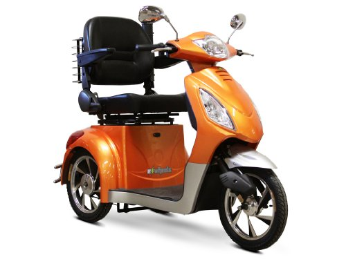 EWheels - Electric Mobility Scooter - EW-36 - Orange