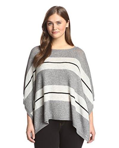 Acrobat Plus Women's Striped Poncho