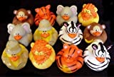Safari-Zoo Rubber Duckies (12)