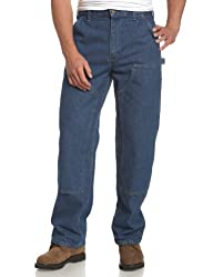 Carhartt Men's Logger Washed-Denim Du…
